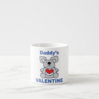 Daddy's Valentine Espresso Cup