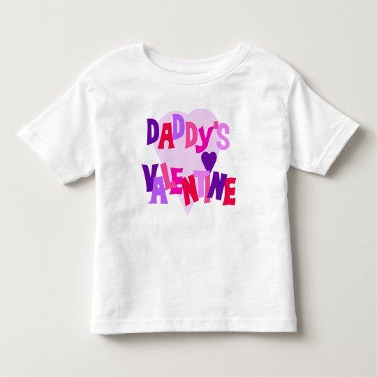 Daddy's Valentine Toddler T-shirt
