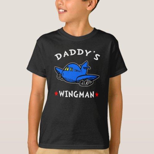 Daddys Wingman Dark T_Shirt