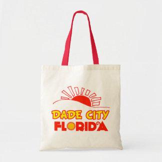 Dade City, Florida Canvas Bags