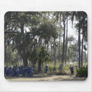 Dade's Battle Re-enactment Mouse Pad