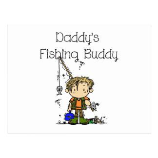 DADFISHINGBUDDY.png Postcard