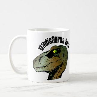 Dadisaurus Rex Classic White Coffee Mug