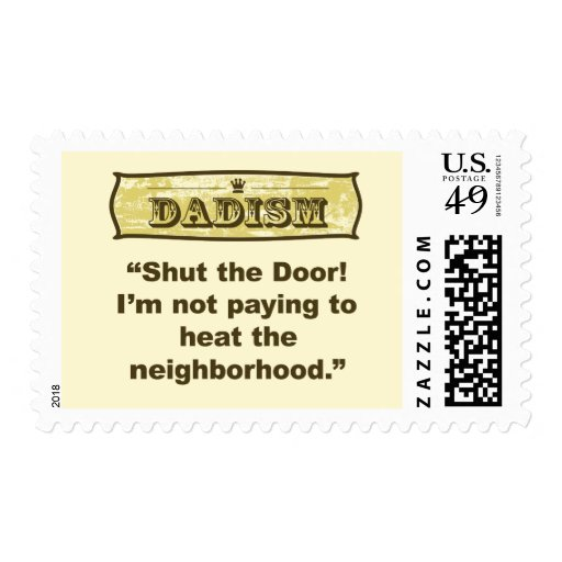 ¡Dadism - cierre la puerta! Sellos