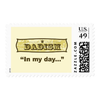 Dadism - In my day Stamp