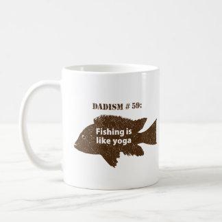 Dadism Number 59 Classic White Coffee Mug