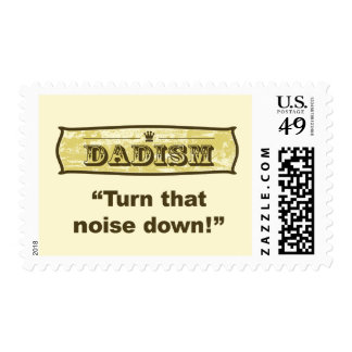 Dadism - Turn down that noise Postage
