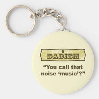 ¿Dadism - usted llamada esa música del ruido? Llavero Redondo Tipo Pin