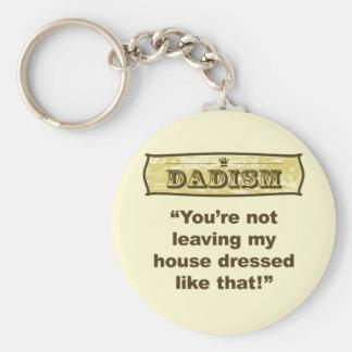 Dadism - vestido como ése llavero redondo tipo pin