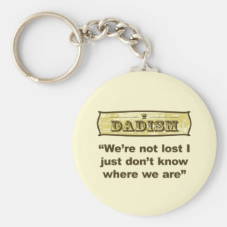 Dadism - We're not lost Keychain