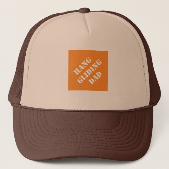 Dadisms Hang Gliding Dad Trucker Hat