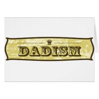 Dadisms Tarjeta De Felicitación