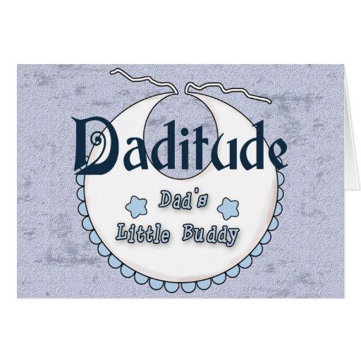 Daditude Greeting Card