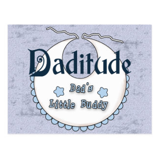Daditude Postcard