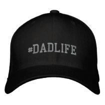 DadLife Embroidered Basic Flexfit Wool Cap