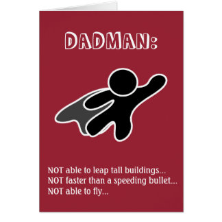 Dadman Father's Day Card