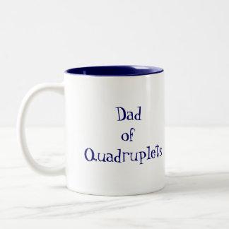 DadofQuadruplets Two-Tone Coffee Mug