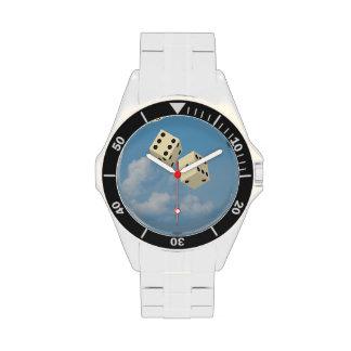 dados afortunados relojes de pulsera
