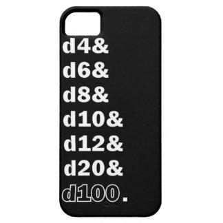 Dados d20 del juego funda para iPhone SE/5/5s