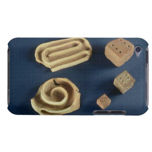 Dados de la piedra arenisca y juego del laberinto  iPod touch Case-Mate cárcasas