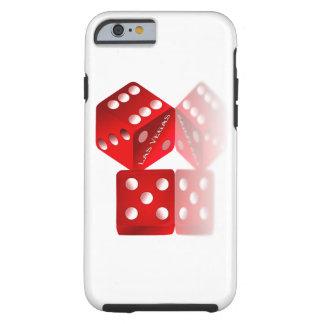 Dados de Las Vegas Funda Para iPhone 6 Tough
