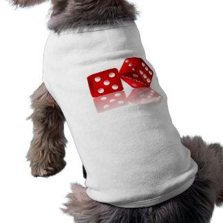 Dados de Las Vegas Playera Sin Mangas Para Perro
