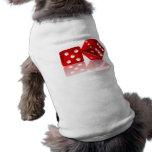 Dados de Las Vegas Ropa De Mascota