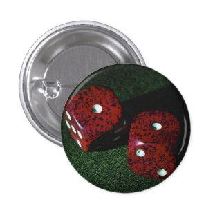 Dados de Lukcy Pin Redondo 2,5 Cm