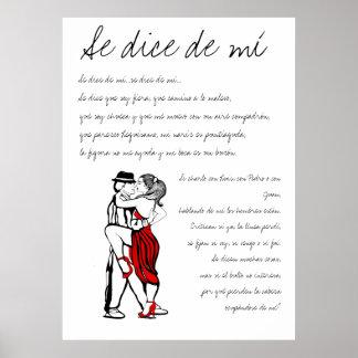 Dados de mi Lyrics del SE Poster