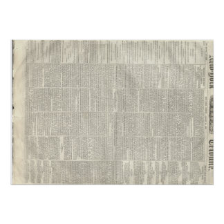 Dados de Thaddeus Stevens, tribuna 8/14/1868 de Póster