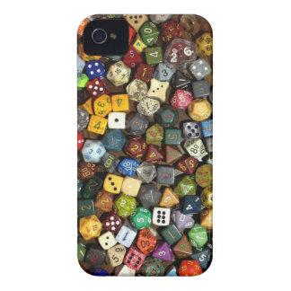 Dados del juego del RPG Funda Para iPhone 4 De Case-Mate