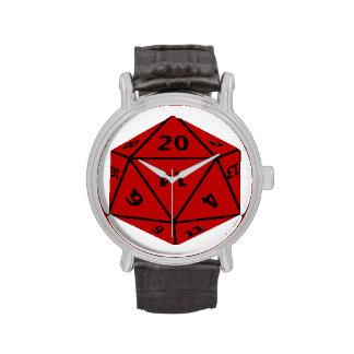 Dados Geeky Reloj De Mano