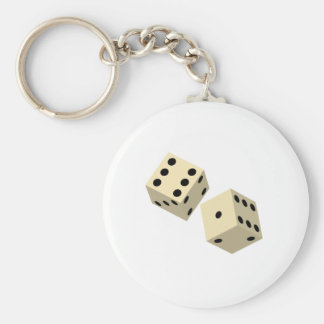 Dados Llavero Redondo Tipo Pin