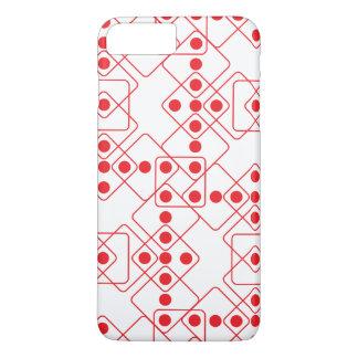 Dados rojos funda iPhone 7 plus