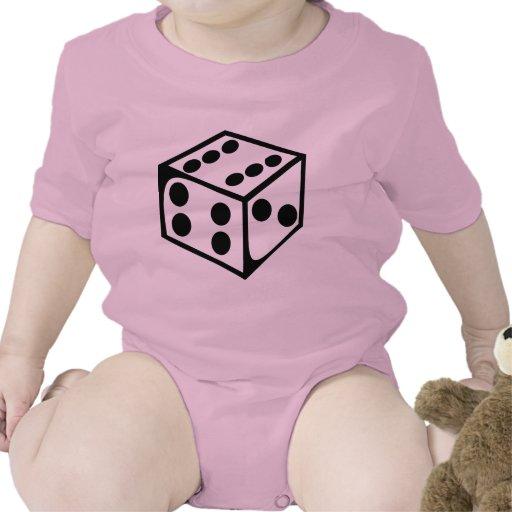 Dados - seis traje de bebé