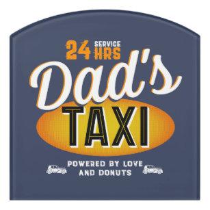 Taxi Cab Door Signs | Zazzle