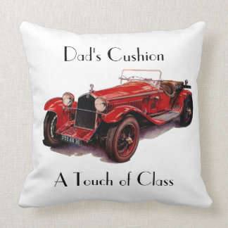 DADS A TOUCH OF CLASS CUSHION THROW PILLOW