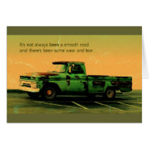 Dad's always there card