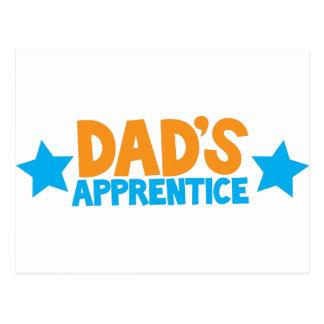 Dads apprentice! postcard