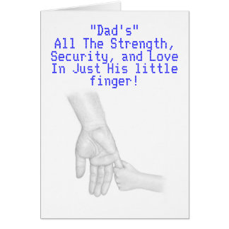 Dad's are important card