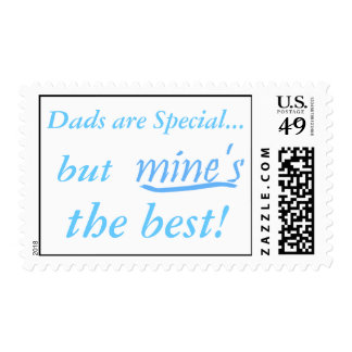 Dads are Special, But Mine's The Best Postage