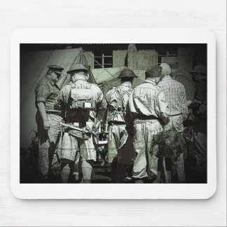Dads Army on parade Mouse Pad