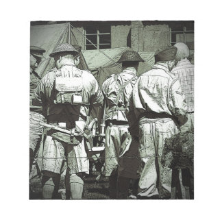 Dads Army on parade Notepad
