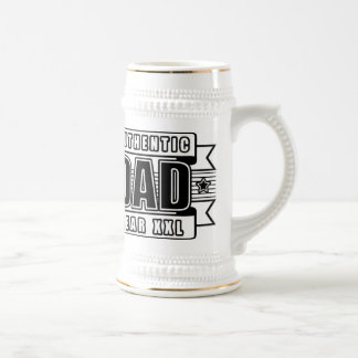 Dads Authentic Father Gear Beer Stein