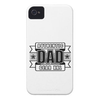 Dads Authentic Father Gear Case-Mate iPhone 4 Case