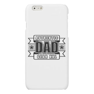 Dads Authentic Father Gear Matte iPhone 6 Case