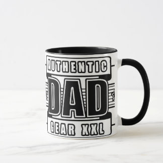 Dads Authentic Father Gear Mug
