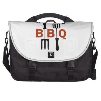 DADS B B Q LAPTOP MESSENGER BAG