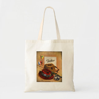 Dad's Bait and Tackle Tote Bag