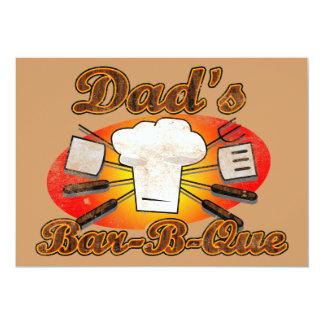 Dad's Bar-B-Que Card